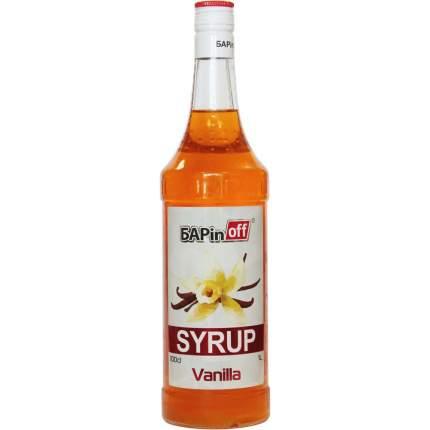 Сироп Barinoff ваниль 1 л