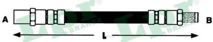 Шланг тормозной Lpr 6T48343