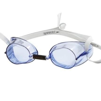 Очки для плавания Speedo Swedish 8-70606 голубые (0014)