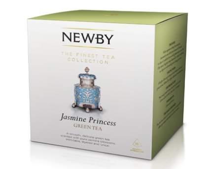 Чай зеленый Newby жасминовая принцесса 15 пакетиков