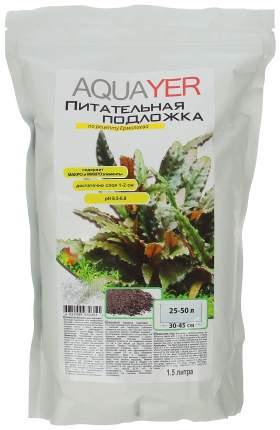 Грунт для аквариума Aquayer Питательная подложка 1,5 л