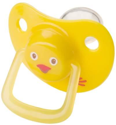 Соска-пустышка Happy Baby 0-12 цыпленок