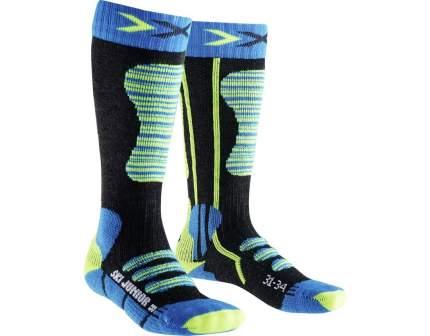 Гольфы детские X-Socks, цв. черный; синий р.24-26