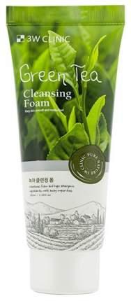 Пенка для умывания 3W Clinic Green Tea Foam Cleansing 100 мл