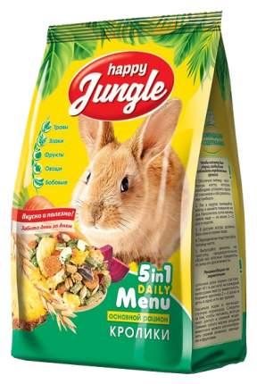 Корм для кроликов Happy Jungle витаминизированный 0.4 кг 1 шт