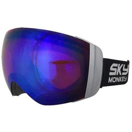 Горнолыжная маска Sky Monkey SR45 RV 2019 black