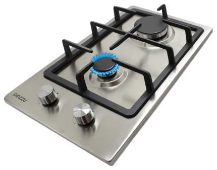 Встраиваемая варочная панель газовая Ginzzu HCG-216 Silver