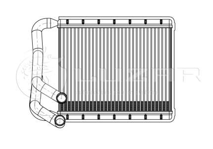 Радиатор отопителя Luzar LRH08X0