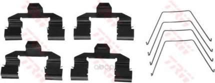 Ремкомплект тормозных колодок  пер mazda 6 1.8 02 TRW/Lucas PFK471