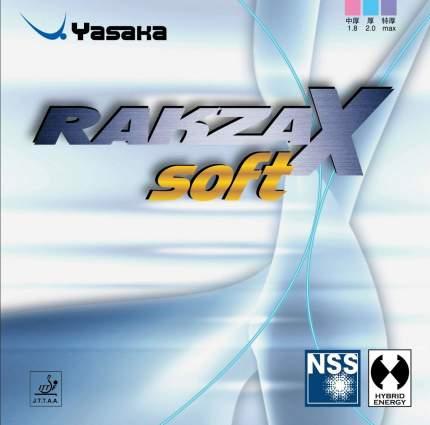 Накладка для ракетки Yasaka Rakza X Soft черная max