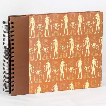 """Фотоальбом """"Египетские иероглифы"""" под уголки на 80 страниц, 29х23 см"""