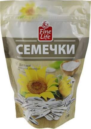 Семечки Fine Life подсолнечника жареные белые соленые 170 г