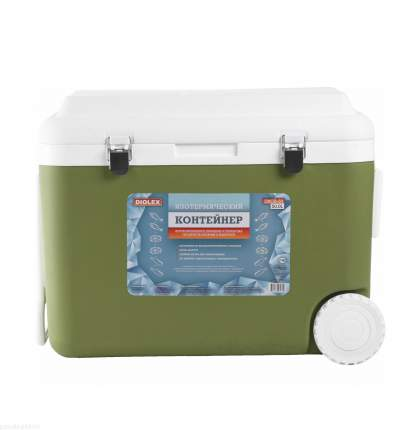 Термоконтейнер DIOLEX, 50 л, зеленый