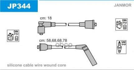 Комплект проводов зажигания JANMOR JP344