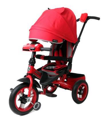 Велосипед трехколесный Moby Kids Leader 360° AIR Car с разворотным сиденьем красный 641209