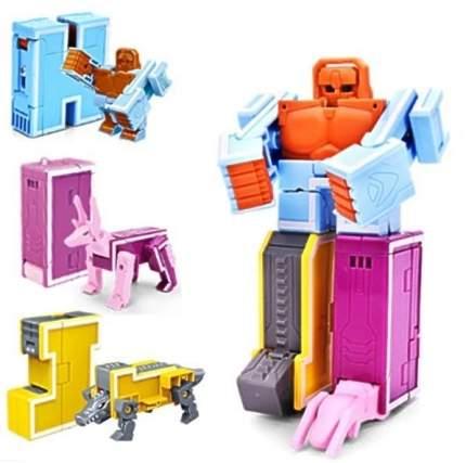 Робот-боксёр 1 TOY Lingvo Zoo Зообот буквы английского алфавита Трансботы 3 буквы H I J