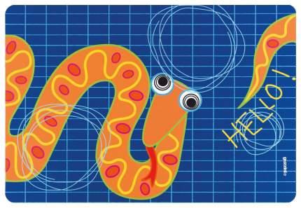 Коврик сервировочный детский Guzzini Hello змея 22606652S