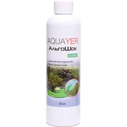 Средство для борьбы с водорослями в аквариуме Aquayer АльгоШок 250 мл