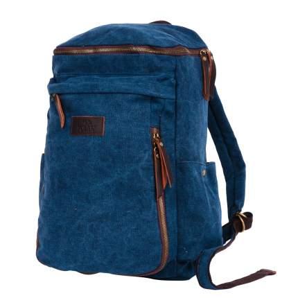 Рюкзак кожаный Polar П3392 14,5 л синий