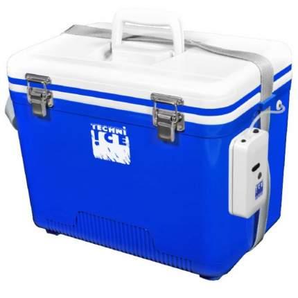"""Изотермический контейнер """"Живец"""", 28л (синий с белой крышкой)"""