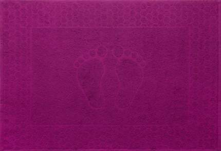 """Полотенце махровое """"Ножки"""" (яркая фуксия) 48х70"""