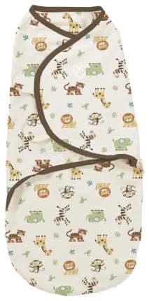 Конверт для новорожденных Summer Infant Swaddleme S/M, джунгли