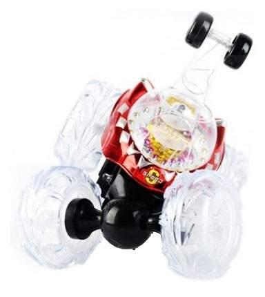 Радиоуправляемая машинка Renda Перевертыш с мыльными пузырями Красный