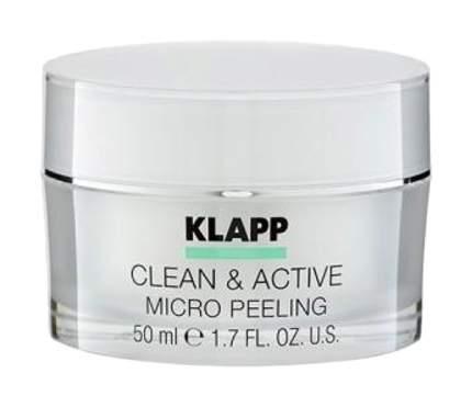 Пилинг для лица KLAPP CLEAN&ACTIVE MICRO PEELING