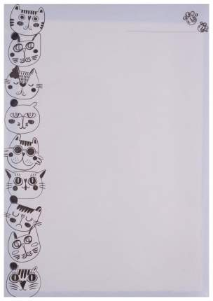 Сменный блок для тетради нелинованный Dominanta «Cats» 14х20 см