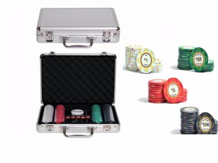 Набор для покера Partida Luxury Ceramic на 200 фишек