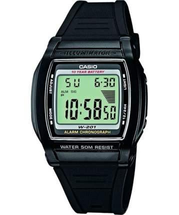 Наручные часы электронные мужские Casio Collection W-201-1A
