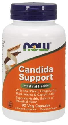 Для пищеварения NOW Candida Support 90 капсул