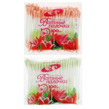 Цветные палочки косметические Емельянъ савостинъ фас. по 100 шт