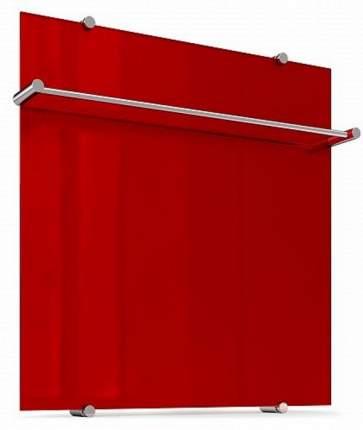 Стеклянные полотенцесушители Теплолюкс Flora 60x60 Красный 2129962