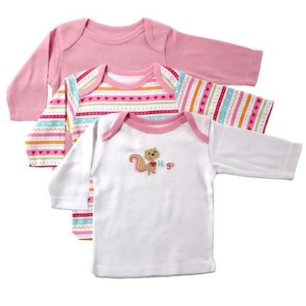 Комплект футболок LUVABLE FRIENDS Розовый р.62