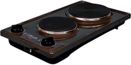 Настольная электрическая плитка Лысьва ЭПБ 22 рябчик коричневый