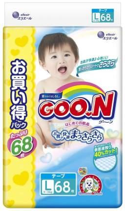 Подгузники Goon Ultra Jumbo Pack L 9-14 кг 68 шт