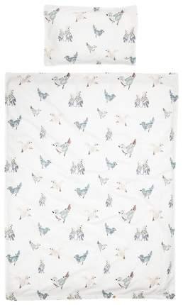 Elodie details комплект постельного белья feathered friends, 2 предмета