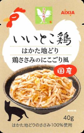 Влажный корм для кошек AIXIA «Iitokotori», измельченное куриное филе в густом желе 40г