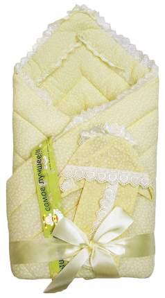 Одеяло на выписку L'Abeille, 4 предмета Фунтик 6163 бежевый