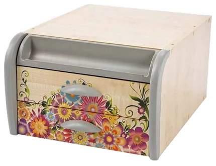 Тумба навесная для парт с рисунком Дэми Цветы СУТ-15 Клен