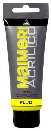 Акриловая краска Maimeri Acrilico M0916095 желтый флуоресцентный 75 мл