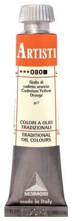 Масляная краска Maimeri Artisti M0102080 кадмий оранжевый 20 мл