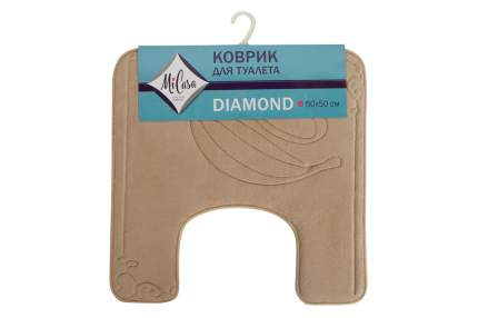 Коврик для туалета MiCasa Diamond 50х50 см