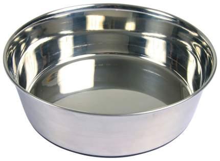 Миска для собак TRIXIE Stainless Steel Bowl M, металлическая, 17 см, 1л