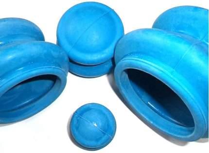 Банки для вакуумного массажа из резины 4 шт.
