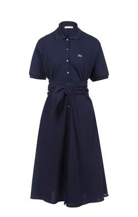 Платье женское Lacoste синее 40