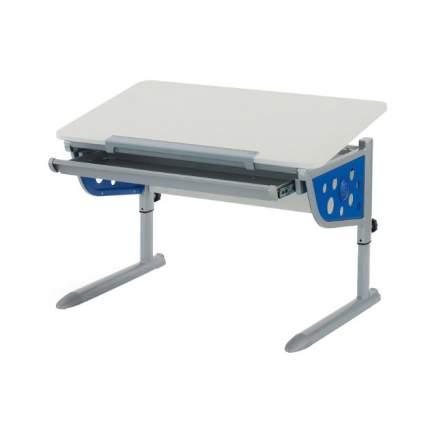 Школьная парта-трансформер KETTLER Logo Plus белый, синий, серый,