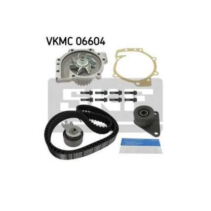Комплект ремня Грм SKF  Volvo C70 2.4 T/2.5/S40 1.6/1.8/1.9/2.0 с помпой VKMC06604