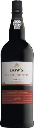 Портвейн Dow's Fine Ruby Port